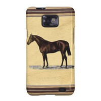 Brown Horse Samsung Galaxy SII Case