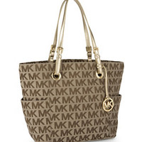 MICHAEL Michael Kors Signature East-West Tote 					 					 				 			 | Dillard's Mobile