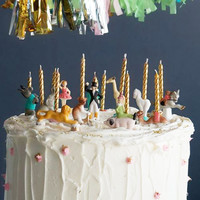 Glitter Ville Candle Holders