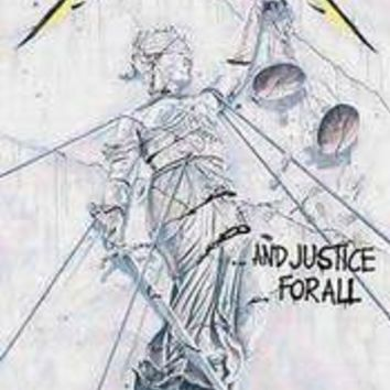 Metallica Justice For All Fabric Poster
