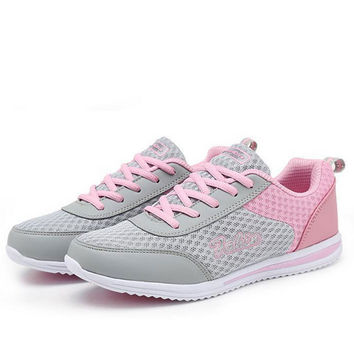 Running shoes women air mesh sport sneakers Super Light Outdoor woman Trainers lovers walking tennis summer breathable shoe