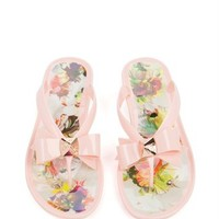 TOLEE - Treasured Orchid print flip flop -
