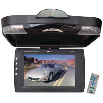 "Pyle 12.1"" Ceiling-mount Lcd Monitor With Dvd Player"