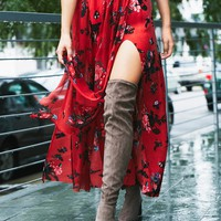 Free People Coast To Coast Over The Knee Boot