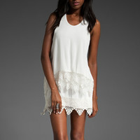 STONE_COLD_FOX Trimmed May Dress in Ivory at Revolve Clothing - Free Shipping!