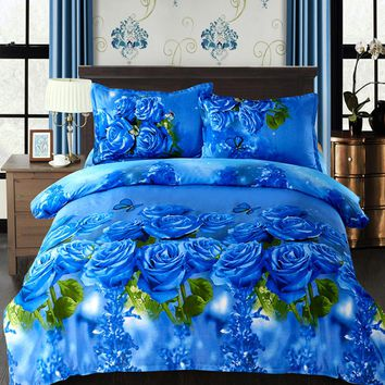 Beddingoutlet 4pc 3D Print  Comforter Bedding Sets Mandala duvet  cover set winter bedsheet Pillowcase queen king size Bedlinen