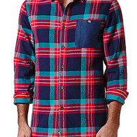 Modern Amusement Drop Tail Long Sleeve Woven Shirt at PacSun.com
