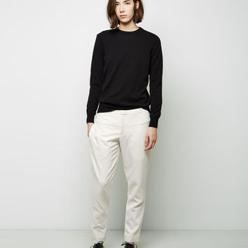Washed Technical Cotton Trouser by Marni