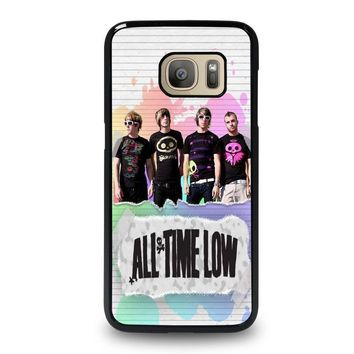 all time low personil band samsung galaxy s7 case cover  number 1