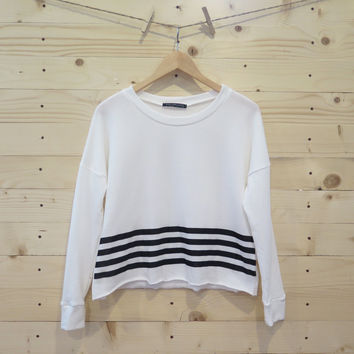 Crop Fleece Crewneck