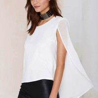 Nasty Gal Monica Top - Ivory