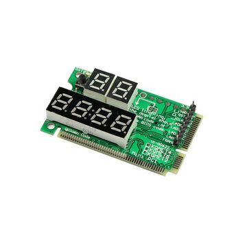 MuchBuy Laptop Motherboard Mini PCI-E PC Diagnostic Tester Card (Laptop Tester Card)