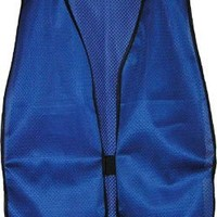 Iron Horse Plain Soft Mesh Safety Vests - Royal Blue