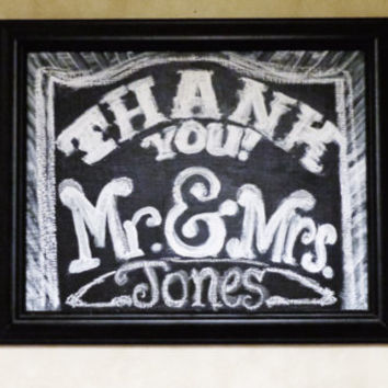 CUSTOMIZABLE hanging custom kitchen hand lettering paint finish colors wedding prop chalk board chalkboard sign