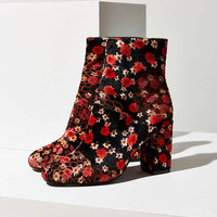 Presley Velvet Ankle Boot - Urban Outfitters