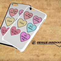 Sassy Candy Hearts Samsung Galaxy S3 S4 S5 Note 3 , iPhone 4(S) 5(S) 5c 6 Plus , iPod 4 5 case