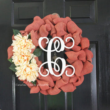 Front Door Wreath, Burlap Wreath, Christmas Wreath, Thanksgiving Wreath, Wreath, Outdoor Wreath, Holiday Wreath