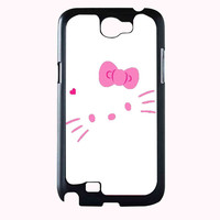 hello kitty FOR SAMSUNG GALAXY NOTE 2 **