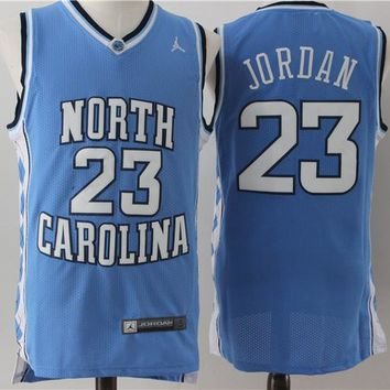 North Carolina 23 Jordan Swingman Jersey