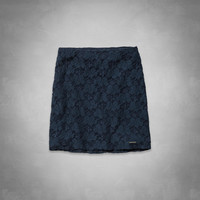A&F Lace Skirt