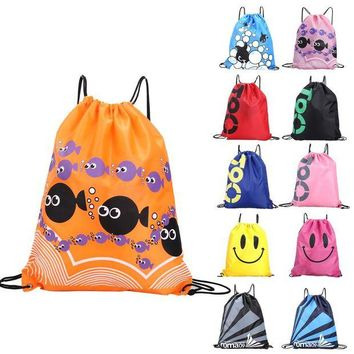 ONETOW Waterproof Bag Swimming Backpacks Double Layer Drawstring Sport Bag Shoulder Bags Water Sports Travel Portable Bag For Stuff