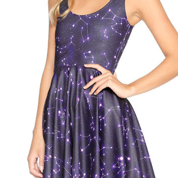 WRITTEN IN THE STARS SCOOP SKATER DRESS - LIMITED