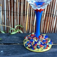 Princess Snow White Wine Glass