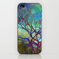 winter tree iPhone & iPod Skin by Sylvia Cook Photography