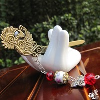 Hair Accessories Strong Character Pottery Headwear Jewelry [6586057159]