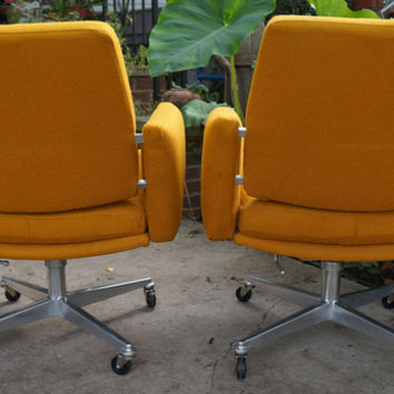 REDUCED Mid Century Modern Office / Lounge Chairs
