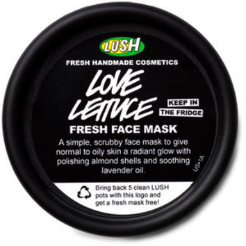 Love Lettuce fresh face masks