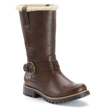 SONOMA life + style Jules Women's Faux Fur Mid Boots
