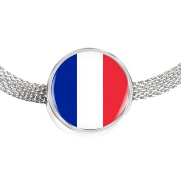 French Pride - Luxury Charm Bracelet