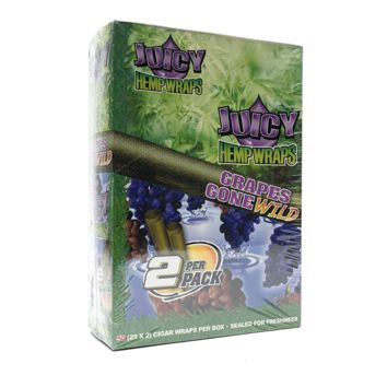 Juicy H Wraps - Grapes Gone Wild (Box of 50)