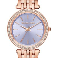 Women's Michael Kors 'Darci' Round Bracelet Watch, 39mm