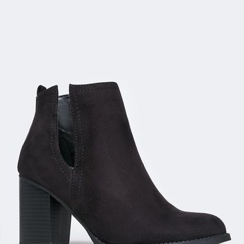 Side Cutout Bootie
