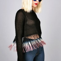 Cool Down Fringe Top
