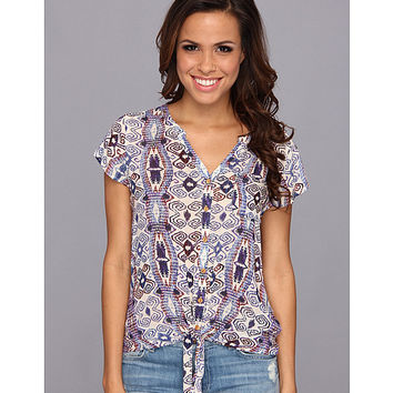 Lucky Brand Diamondtie Front Top