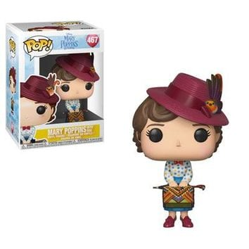 Mary Poppins with Bag Funko Pop! Disney Mary Poppins Returns