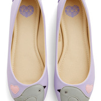 ModCloth Kawaii Sweet Little Love Song Flat