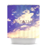 "Rachel Burbee ""Breathe"" Shower Curtain"
