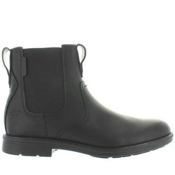 Timberland Earthkeepers Carter Notch   Black Leather Chelsea Boot