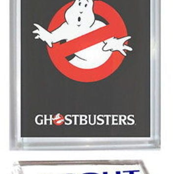 Ghostbusters Acrylic Executive Display Piece or Desk Top Paperweight