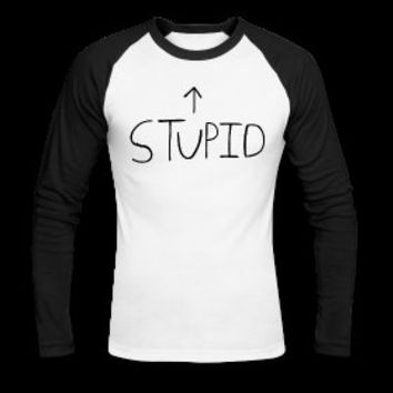 Billie Joe Armstrong's STUPID Dookie Baseball Tee #GreenGay #BillieJoeArmstrong #Stupid