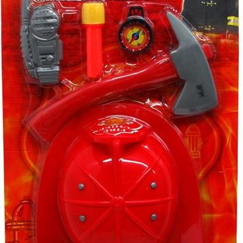 5 Piece Firefighter Playset - CASE OF 24