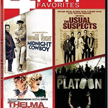 Harvey Keitel - Midnight Cowboy / The Usual Suspects / Thelma & Louise / Platoon Quad Feature