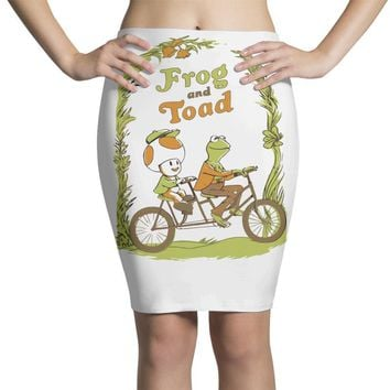frog & toad Pencil Skirts
