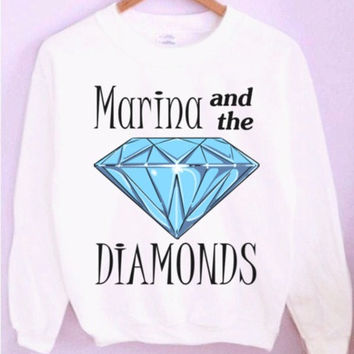 Marina and the Diamonds Crewneck/Sweatshirt