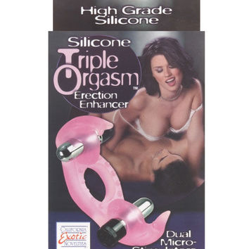 Silicone Triple Orgasm Erection Enhancer