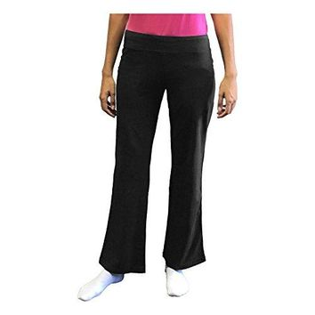 Danskin Now Womens Dri More Bootcut Pants Regular 32quot  Yoga Fitness Activewear